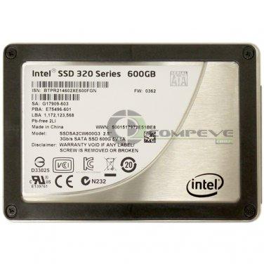 "Intel 320 Series SSDSA2CW600G3 600GB SSD 2.5"" MLC SATA Internal G17909-603"
