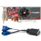 HP ATI FireMV 2250 Multi-view PCIe x1 256MB Low Profile Graphics Card 466548-001