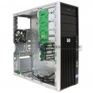 HP Z400 Workstation Case Chassis with Front Panel DVD-Rom MPN 468619-001