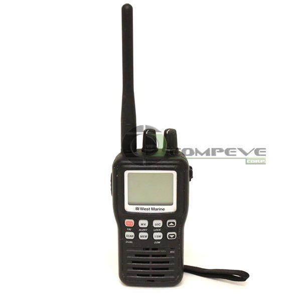 VHF85 West Marine Portable Handheld Two-Way Radio Waterproof  Radio 11954328