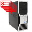 Dell Precision T5500 8 Monitor Trading PC Octo Core 2.13GHz 24GB 1TB HDD Nvidia