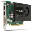 PNY NVIDIA Quadro K2000D  2GB GDDR5 PCIe x16 Workstation Video Card VCQK2000D-PB