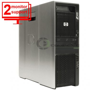HP Z600 Workstation E5504 2.0Ghz 12GB 500GB HDD Quadro FX 1800 Win 7 Pro 64bit