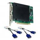 Nvidia Quadro NVS 440 256MB PCIe x16 Quad Graphics Card PNY VCQ440NVS-PCIEX16