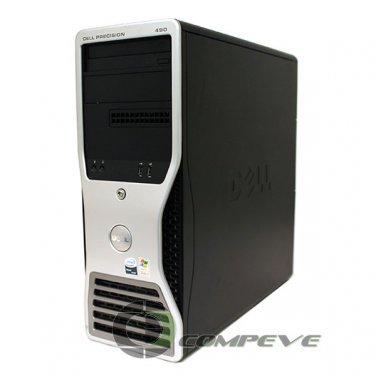 Dell Precision 490 Intel Xeon 5150 2.66GHz 6GB Desktop Computer PC Workstation