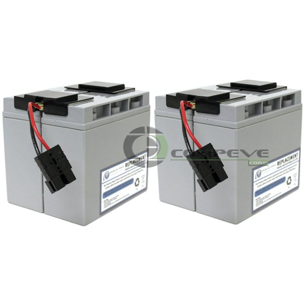 APC RBC55 Battery Cartridge for SMT2200 SMT3000 eReplacements RBC55-SLA55-ER UPS