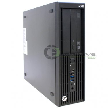 HP Z230 SFF Workstation / Computer Intel Core i3-4150 3.50GHz 8GB 1TB HDD Win7