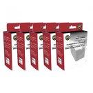 Lot of 5 Epson Remanufactured T078620 Light Magenta Ink Cartridge Stylus R260