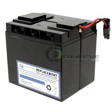 eReplacements SLA7-ER UPS Battery Cartridge APC RBC7 for SU1400 SMT1500 SU700XL#