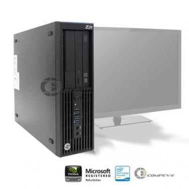 HP Z230 SFF Workstation E3-1245v3 3.40GHz /12GB RAM/ 500GB HDD/ Win7/HD P4600