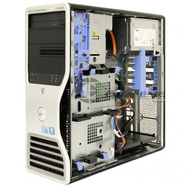 Dell Precision T5500 Computer Case Chassis XX292 with DVD-Rom PSU 875W