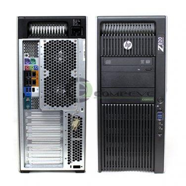 HP Z820 Workstation B2C05UT E5-2620 8GB RAM 1TB HDD V5900 Win10