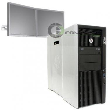 HP Z820 Workstation Intel E5-2640 2.5GHz 16GB RAM 2x 256GB SSD QuadroK4000 Win10