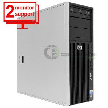 HP Z400 Computer Intel Xeon W3505 2.53Ghz 4GB DDR3 1TB  FX 1500 Win10 Pro 64