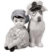 THE LITTLE RASCALS SPANKY & PETEY SALT & PEPPER SHAKERS