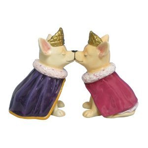 MWAH Aye Chihuahua Prince and Princess Salt and Pepper