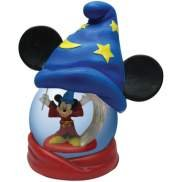 Disney Mickey Mouse Fantasia Sorceror 65MM Water Snow Globe
