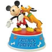 Disney Mickey & Pluto Best Friend Musical Figurine
