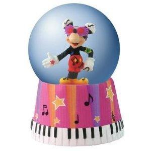 Disney Mickey Mouse Music Royalty Mini Waterglobe