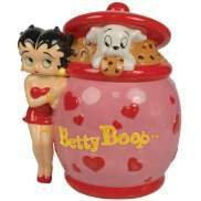 Betty Boop and Pudgy in Cookie Jar - Cookie Jar