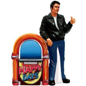 Happy Days Fonz and Jukebox Salt and Pepper