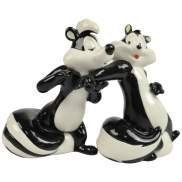 Looney Tunes Pepe Le Pew & Penelope Come To Me Salt Pepper