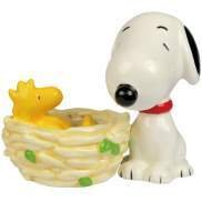 Peanut Snoopy and Woodstock Nest Salt Pepper