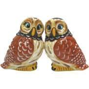 MWAH Magnetic Hoot Owls Salt and Pepper Shaker Set