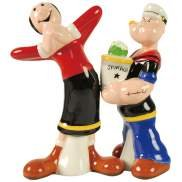 Popeye Give Flowers For Olive Oyl Salt and Pepper