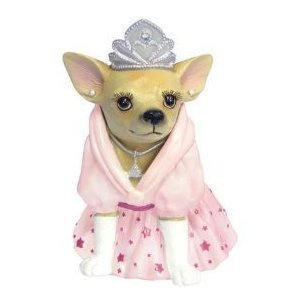 Aye Chihuahua Princess Figurine
