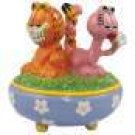 Garfield and Arlene Tail Joint Together Trinket Box