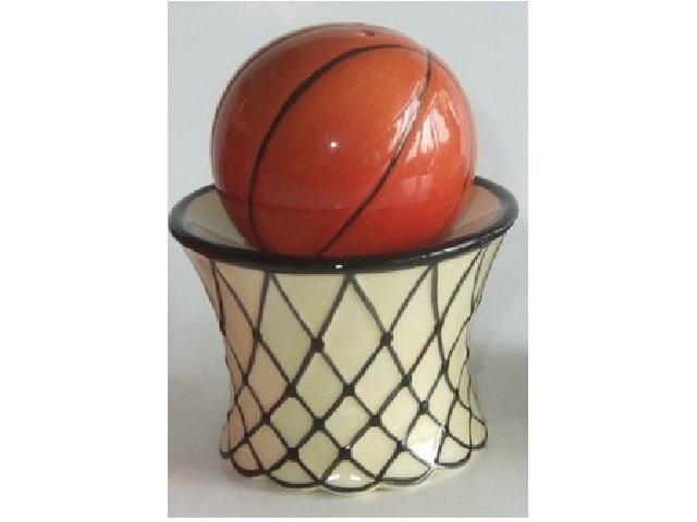 Basketball and Net Salt and Pepper