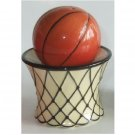 Basketball and Net Salt and Pepper