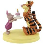 Disney Life According To Eeyore Happy Birthday Piglet & Tigger Cupcake Figurine