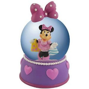 Disney Minnie Mouse What A Doll 65MM Water Globe Figurine