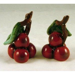 Red Cherry Cherries Salt and Pepper