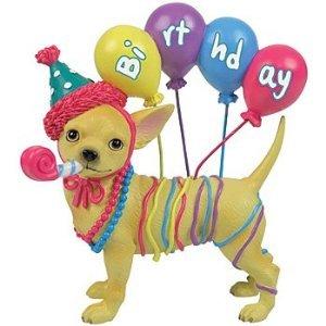 Aye Chihuahua Dog Happy Birthday Chihuahua With Balloon