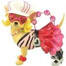 Aye Chihuahua Pop Diva Chihuahua Figurine