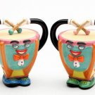ANTHROPOMORPHIC Musical Timpani Salt and Pepper