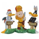 Looney Tune Elmer Fudd, Bugs Bunny and Daffy Duck Hunting Season Salt and Pepper