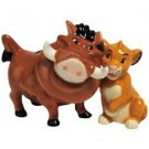 The Lion King - Pumbaa And Simba Salt & Pepper Shakers Set