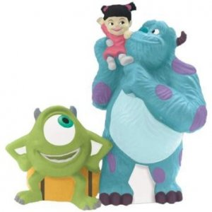 Monsters, Inc. Gang Sulley, Mike and Boo Salt and Pepper Shaker