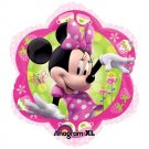 "Disney Minnie Mouse Pink Flower Shape 18"" Foil Balloon Party Accessory"