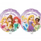 Disney Princess Ariel, Belle, Rapunzel, Cinderella, Tiana Foil Balloon Party