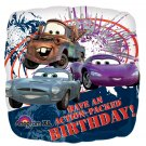 "Disney An Action Packed Birthday Cars 17"" Foil Balloon Party Supply"