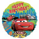 "Disney Happy Birthday Car Sing A Tune 28"" Foil Balloon Party Supply"