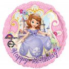 "Disney Princess Sofia The First 17"" Happy Birthday Balloon Party Supply"