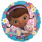 "Disney DOC MCSTUFFINS & Best Friend Lambie 17"" Balloon Party Supply"