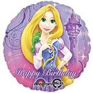 "Disney Princess Rapunzel 17"" Happy Birthday Balloon Party Supply"