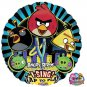 """Angry Birds Sing A Tune 28"""" Foil Balloon Party Supply"""